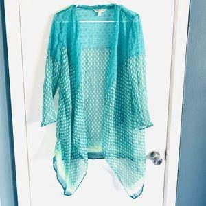 Krazy Kat Sheer Kimono cover up medium